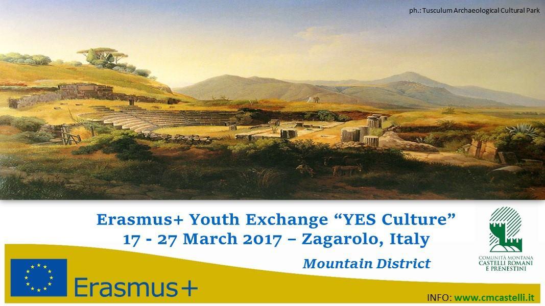 YES Culture! Il progetto della Comunità montana dei Monti Prenestini