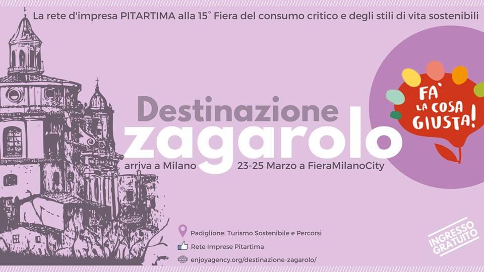 Prima fiera per PITARTIMA: Fa' La Cosa Giusta! Milano, 23-25 Marzo 2018