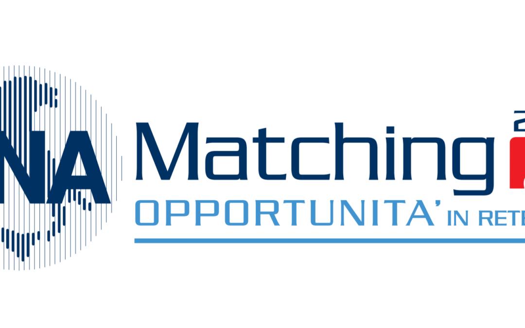 CNA Matching 2018! Opportunità in rete il 14 settembre