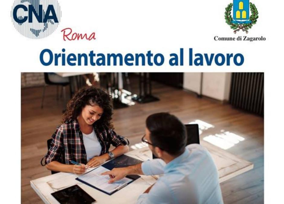 Orientamento al lavoro di CNA Roma